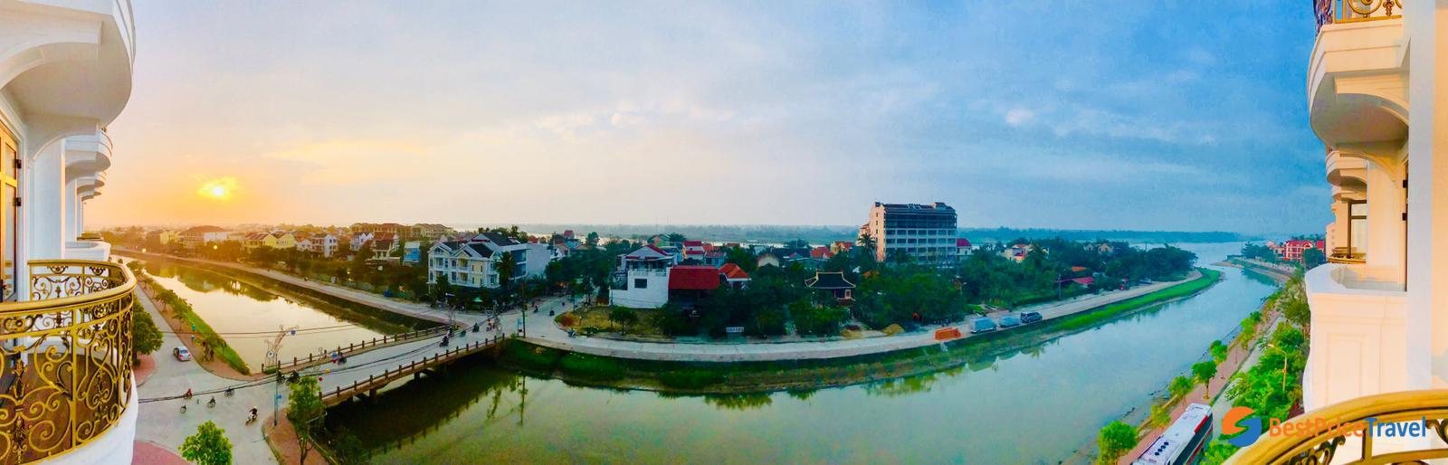 Hanoi panoramic view