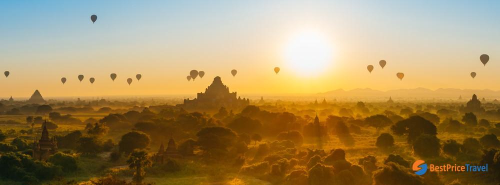 Myanmar Balloon Ride